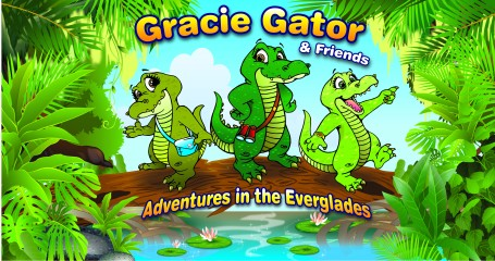 Illustration of Gracie Gator and Friends: Adventures in the Everglades