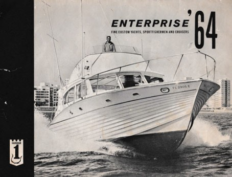 cover of a Breuil boats yacht brochure 1964